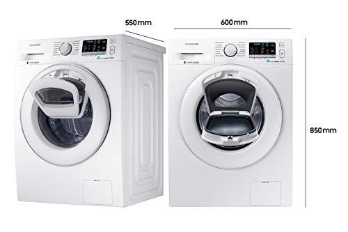 Samsung WW80K5400WW/EG Waschmaschine FL/A+++/116 kWh/Jahr/1400 UpM/8 kg/Add Wash/Smart Check/Digital Inverter Motor - 2