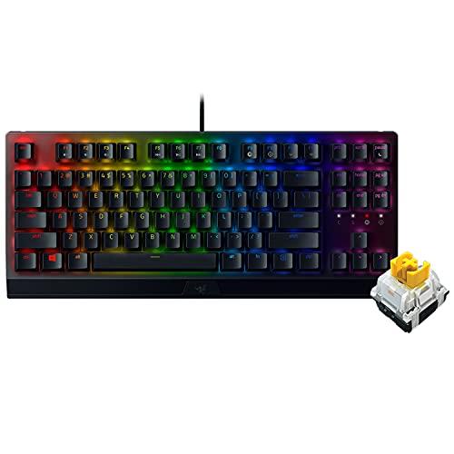 Razer BlackWidow V3 Tenkeyless - Yellow Switch テンキーレス ゲーミングキーボード メカニカル イエロー...