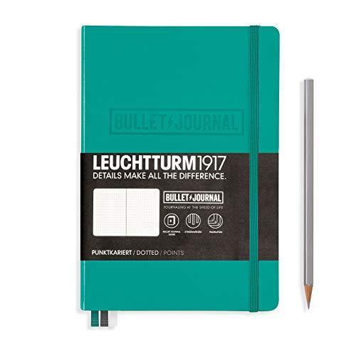 ロイヒトトゥルム ノート A5 ドット方眼 バレットジャーナル エメラルド 355280 正規輸入品