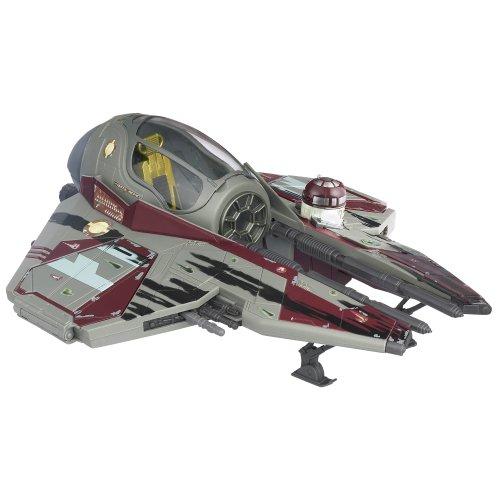 Star Wars Obi-Wan /'s Jedi Starfighter Attaque des Clones Hasbro 2002 vaisseau spatial