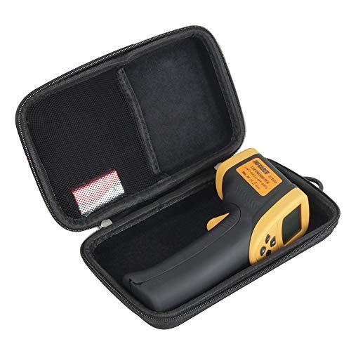 Hermitshell Hard Travel Case for Etekcity Lasergrip 800 Digital Infrared Thermometer Laser Temperature Gun (Black)
