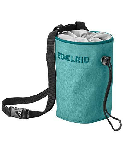 EDELRID Unisex– Erwachsene Chalk Bag Rodeo small, Teal Green, einheitlich