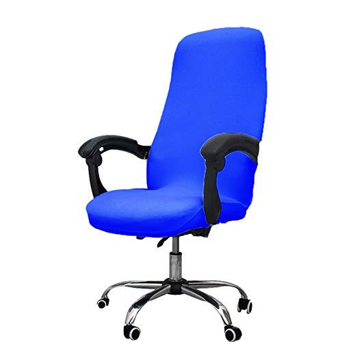 Silla de oficina fundas, mi Decor extraíble, tejido elástico cojín resistente ordenador silla/silla de escritorio/Boss silla/silla/silla de oficina con rotación, tamaño grande, negro