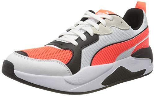 Puma X-ray, Unisex-Erwachsene Sneaker, Weiß (White-Red-Lava Blast-Black 07), 41 EU