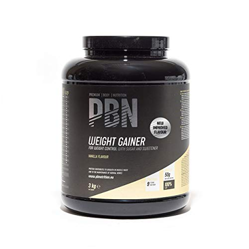 PBN - Premium Body Nutrition Weight Gainer 3kg Vanilla, New Improved Flavour