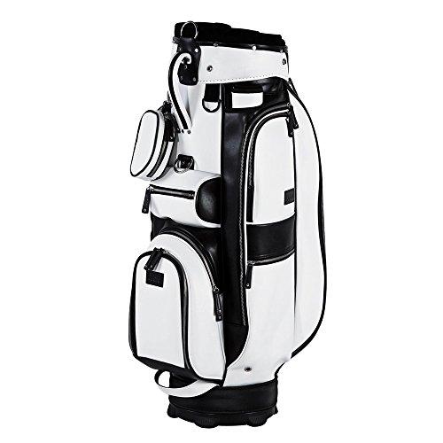 JuCad Golf Cart Bag Sydney colore: bianco e nero