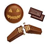 HERSHEY'S Halloween Chocolate Candy, Glow in the Dark Wrapped Variety Mix, (HERSHEY'S, KIT KAT, and REESE'S) 43.28 oz
