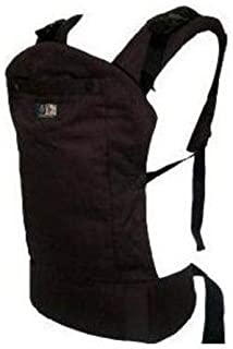 Beco Butterfly II Organic Baby Carrier with Brown Base, Espresso (Discontinued by Manufacturer)