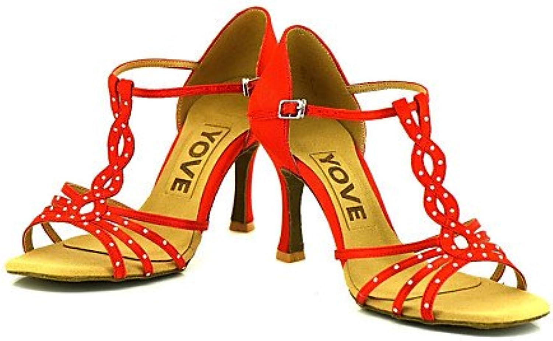 T.T-Q Frauen Beruf Tanz Schuhe Nackt