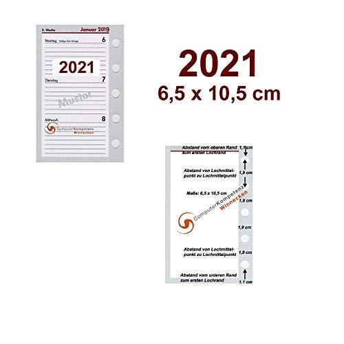 bsb Timeplaner Kalendarium 2020 1Woche=2Seiten A8 Mini 6,5x10,5cm 02-0195