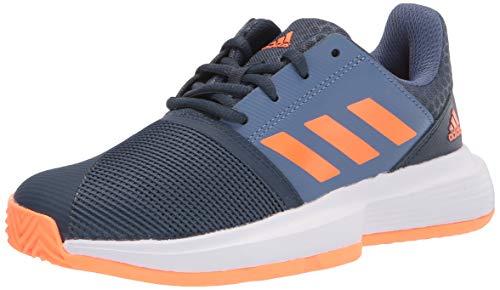 adidas Courtjam X Tennis Shoe, Crew Navy/Screaming Orange/Crew Blue, 5.5 US Unisex Big Kid