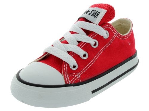 Converse Chuck Taylor All Star OX Shoe - Toddlers' Red, 3.0
