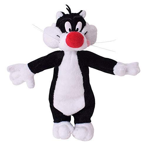 TE-Trend Gato Silvestre Looney Tunes Peluche Animal de Tela 18CM Film& TV Regalito Recuerdo Souvenir
