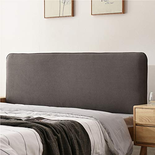 Headboard Triangular Wedge Pillow Nordic Japanese Back Pillow Linen Removable and Washable Simple Modern Bed Head - No Headboard Installation / 76 Inches