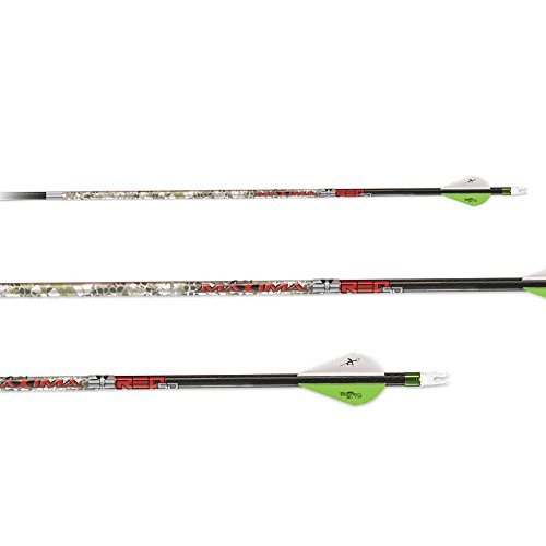 Carbon Express Maxima Red Badlands SD Arrow Shafts - 12 Pack, 350