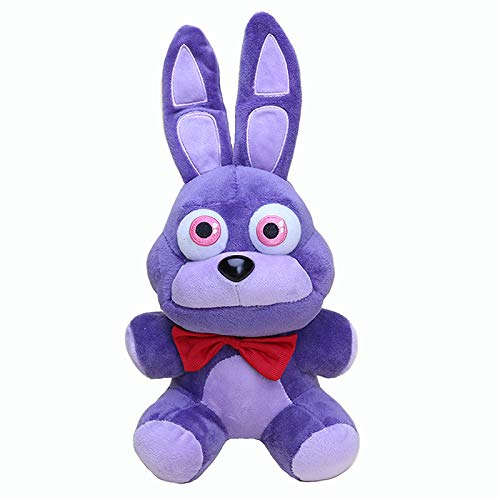 FCS Peluche 18cm Purple Plush Nightmare Bonnie Plush Toys Toys Soft Stuffed Animal Dolls Regalos para Niños