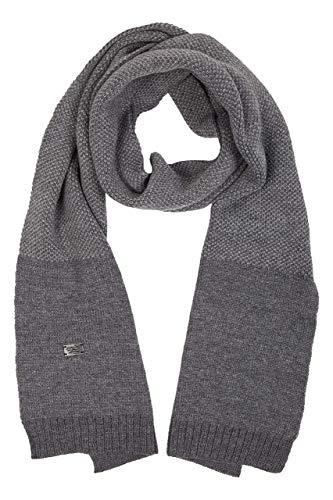 camel active Herren 407150/8V15 Schal, Grau (Grey Melange 06), One Size (Herstellergröße: OS)
