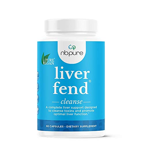 nbpure Liver Fend Liver Detox and Cleanse Supplement, 90 Count