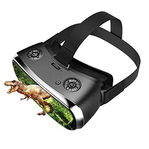 YAP Óculos de realidade virtual tudo-em-um, óculos 3D, fone de ouvido de policarbonato virtual, tudo em um, VR para PS 4, Xbox 360/One 2K HDMI Nibiru Android 5.1 tela 25601440