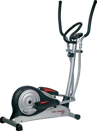 HIGH POWER Bici Ellittica HPEP707 Acciaio/Nero