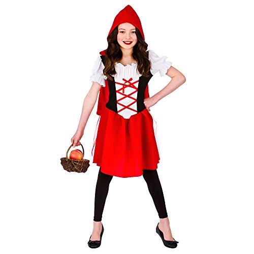 Little Red Riding Hood (5-7) Girls Fancy Dress Costume