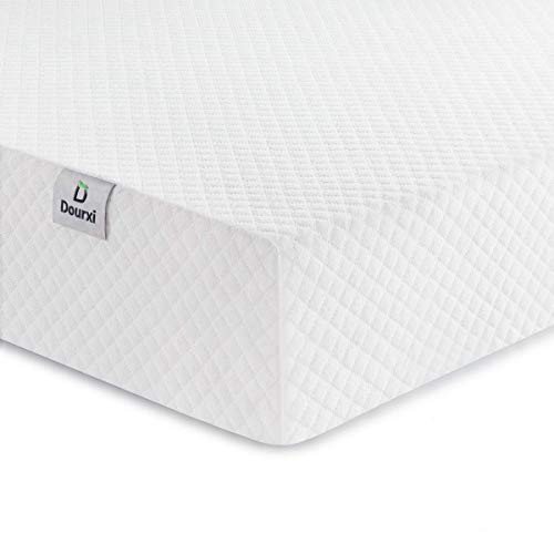 Dourxi Crib Mattress and Toddler Bed Mattress, Dual Sided Sleep System, Firm Side for Infants and...