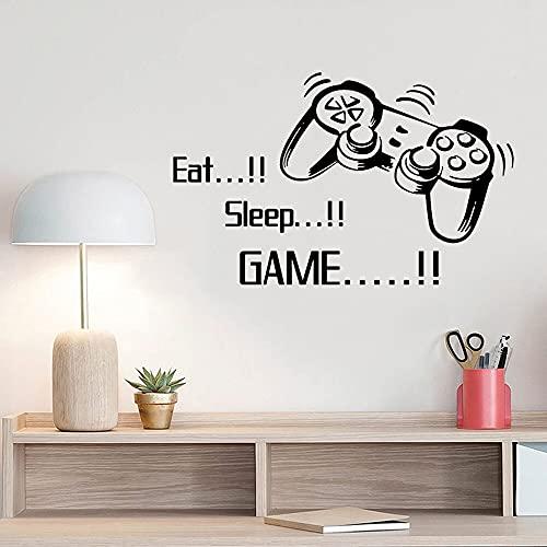 Zdklfm69 Adhesivos Pared Pegatinas de Pared Sala de Juegos de Vinilo de Jugador para decoración de habitación de niños murales de Pared Dormitorio de niños decoración DIY póster de Juegos 106x172cm