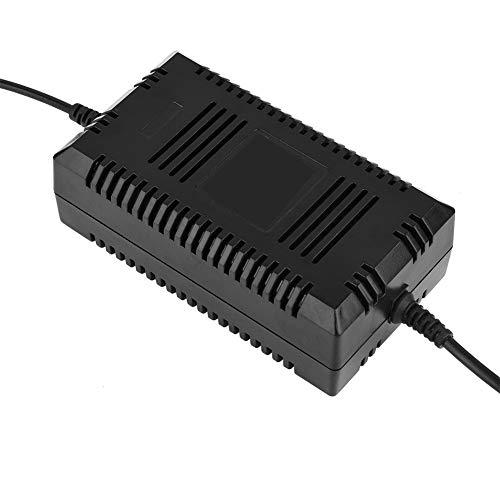 Cargador de Scooter eléctrico Cargador de batería de Plomo y ácido Scooter eléctrico Bicicleta Conector Macho de 3 Pines 36V(EU)