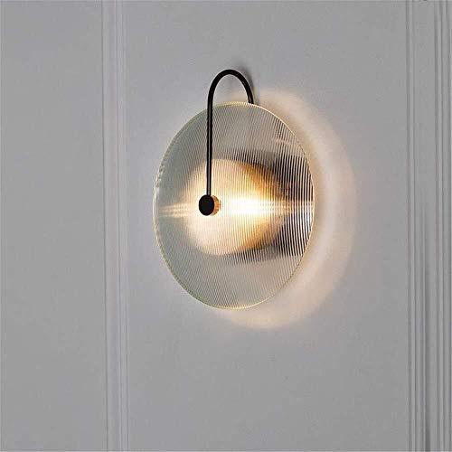 Wandverlichting glas wandlamp minimalistisch Room Cafe lichten complex inbouw slaapkamer glas