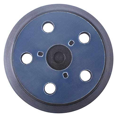 876691 Backing Pad - 5 Inch 5 Hole Hook and Loop Sander Pad Replacement for Porter Cable 333 334 Sander Velcro - Replace 13904 13909