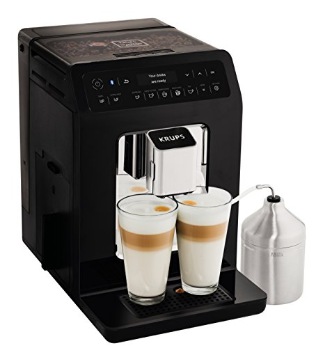 Krups Evidence Coffee Machine, Bean to Cup Machine, Black, Automatic, Hot Beverages, One Touch Coffee small image