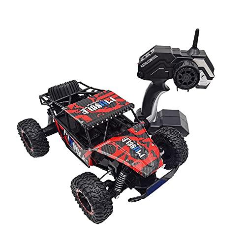 DFERGX 2.4G Vehículo Todoterreno De Alta Velocidad Vehículo De Escalada Multiterreno Niño Niña Coche De Juguete Coche De Regalo para Niños Coche De Deriva Recargable Coche De Control Remoto