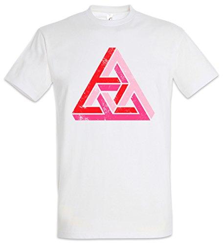 Urban Backwoods Penrose Logo Sign II Herren T-Shirt Weiß Größe 5XL