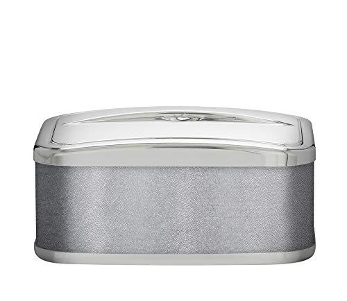 PLATEX 750050831 Conservateur A Glace Bague CHROMEE-SOLFETO Silver, Plastique-Tissu, 22cmX16cmX9cm