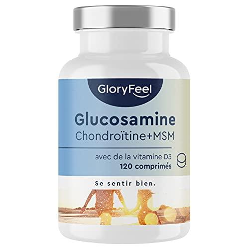 Glucosamine 1600mg + Chondroïtine + MSM + Calcium +...