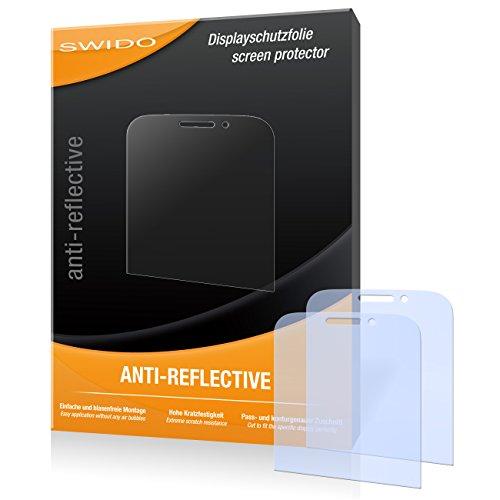 SWIDO Bildschirmschutz für BlackBerry Classic [4 Stück] Anti-Reflex MATT Entspiegelnd, Hoher Festigkeitgrad, Schutz vor Kratzer/Glasfolie, Schutzfolie, Bildschirmschutzfolie, Panzerglas Folie