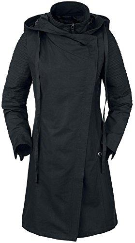 Musterbrand Star Wars Mantel Damen Sith Lady Jacke schwarz 34 (XS)
