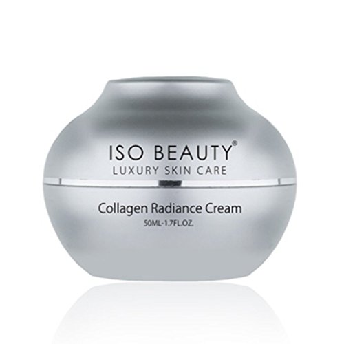 ISO Beauty Youth Luxury Skin Care Diamond Collagen Radiance Cream - Penetrates Deeply Into Damage Cells and Reconstructs The Skin