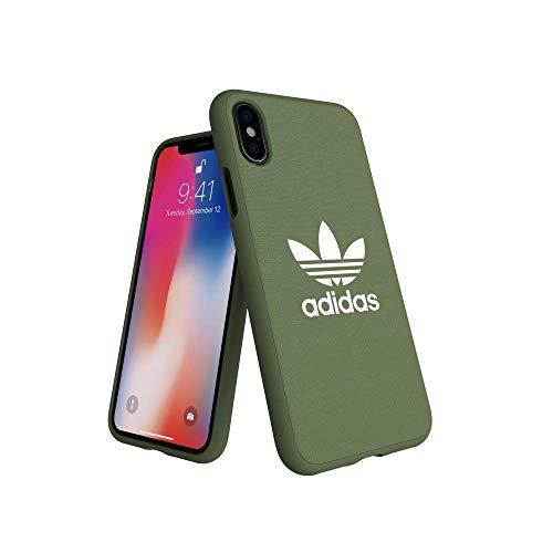 adidas Originals Adicolor Moulded Case Hellgrün für das iPhone XS/X
