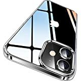CASEKOO Crystal Clear für iPhone 12 Hülle/iPhone 12 Pro Hülle (Keine Vergilbungen) (Falltest...