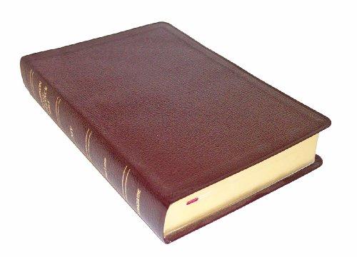 Thompson Chain Reference Bible (Style 809burgundy) - Regular Size NIV