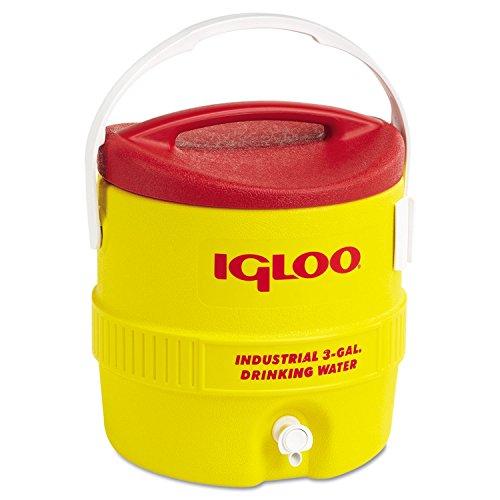Igloo Beverage Cooler 3 Gal Yellow/Red