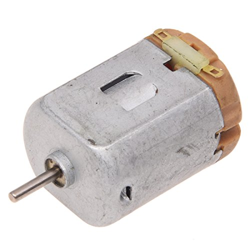 SODIAL(R) 9V DC 8200RPM Motore magnetico elettrico piatto piano asse lungo