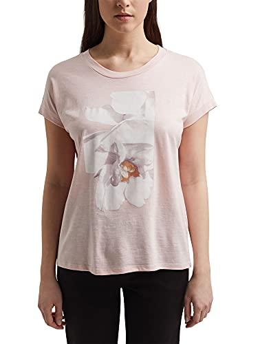 Esprit 021ee1k327 Camiseta, Color Carne, XS para Mujer