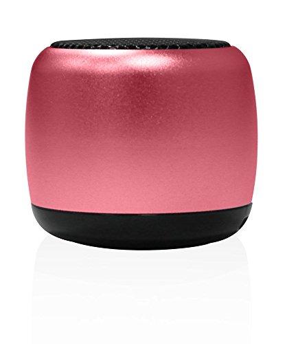 Sytech SYXNANORS - Altavoz Nano inalámbrico con botón Selfie, Color Rosa