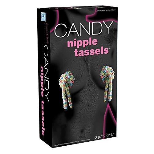Regalo de regalo más vendido, dulces traviesos para un diente dulce, borlas de pezones de caramelo