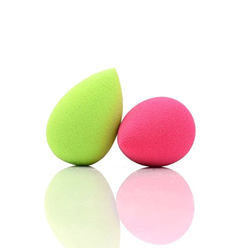 dolovemk | 2Make-up Schwämme | Micro Mini Beauty Ei Mischer 30mm | erweitern, wenn nass (ohne Latex)