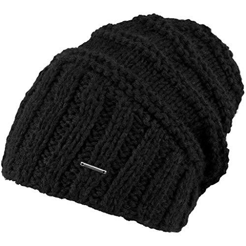 Barts Barts Damen Tamara Beanie Baskenmütze, Schwarz (Black 0001), One Size (Herstellergröße: Uni)