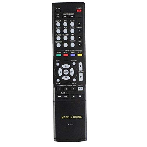 Calvas Ersatz-Fernbedienung für Denon AVR-S500BT AVR-X5200W AVR-X6200W AVR-X1200W AV-Receiver Fernbedienung