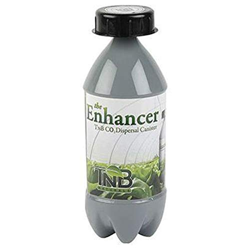 Tnb Naturals the Enhancer Co2 Dispersal Canister for Indoor Garden, Indoor Tent, Greenhouse Accessories, Indoor Greenhouse, Hydroponic Garden